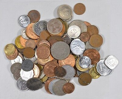 Roughly a POUND of Mixed World Coins - Great Mix *178