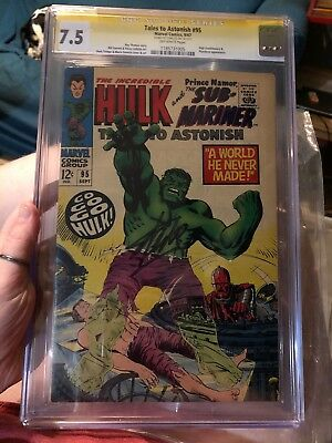 Tales to Astonish #95 (Sep 1967, Marvel) - CGC 7.5 - Signed By Stan Lee