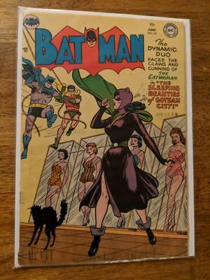Batman #84 Catwoman cover CGC ready 1954 Nice Copy! Golden Age