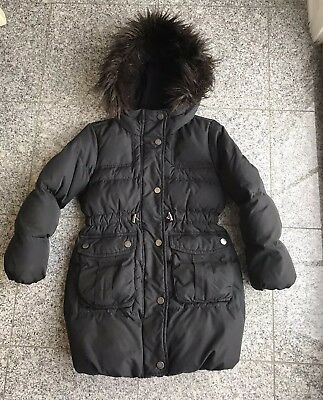 GAP Kids Girl's Down Warm Puffer Winter Coat/Jacket Black SZ: S(6-7)Years