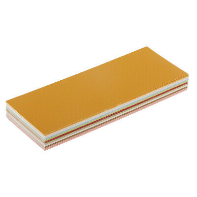 50x 10 Color Metallic Shimmer Paper Cardstock for Business Scrapbooking Card