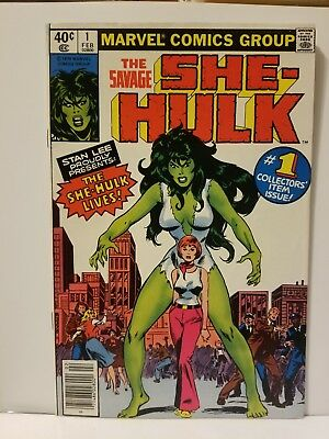 The Savage She-Hulk #1 (Feb 1980, Marvel)