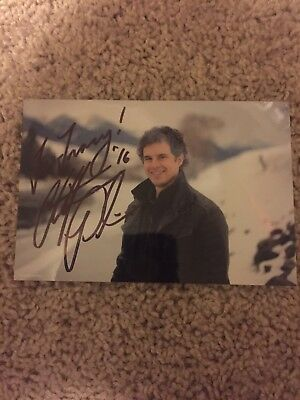 Christopher Paolini Signed 4x6 Glossy Photo Autograph