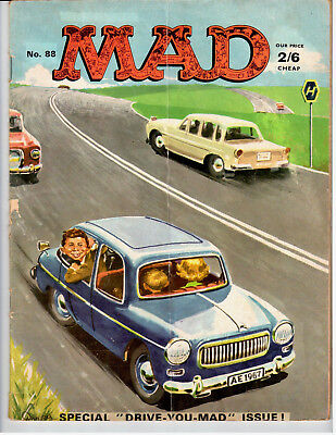 """RARE Vintage Mad Magazine 