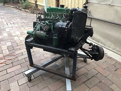 Moke 1100cc Engine, Gearbox And Front Sub-frame