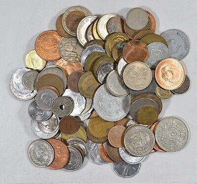 Roughly a POUND of Mixed World Coins - Great Mix *180