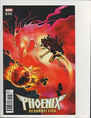 Phoenix Resurrection Return Jean Grey #1 1:1000 Remastered Byrne Variant