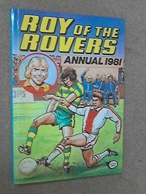 ROY OF THE ROVERS ANNUAL 1981, No Author, Good Condition Book, ISBN 0850375711