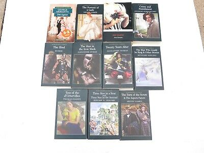Paperback Book Bundle. 11 Classic Titles. Literature Collection! Fast Postage!