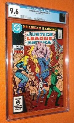 Rare Collectible Comic....justice League Of America #225 Graded By Cgc 9.6 ...