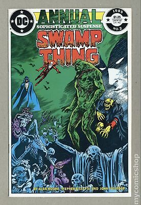 Swamp Thing (2nd Series) Annual #2 1985 NM 9.4