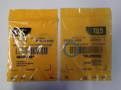 Caterpillar O Rings Oem Genuine Part# 2287092 Combined Cheap Registered Shipping