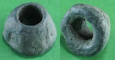 Beautiful Ancient Roman Bronze Bead - 100Bc/100 Ad - Rare