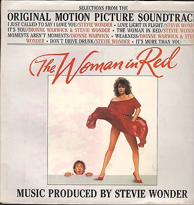 OST - The Woman In Red      LP     VG++