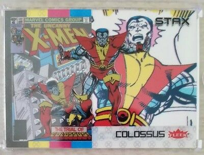 COLOSSUS 2018 Fleer Ultra X-Men 3 STAX Card Character Set (Top, Middle & Bottom)