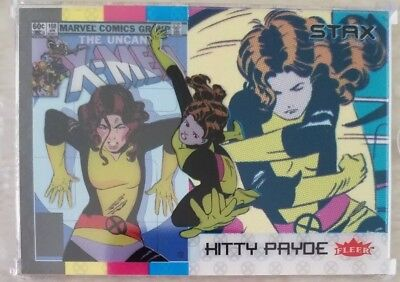 KITTY PRYDE 2018 Fleer Ultra X-Men 3 STAX Card Character Set Top,Middle & Bottom