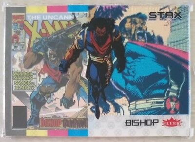 BISHOP 2018 Fleer Ultra X-Men 3 STAX Card Character Set (Top, Middle & Bottom)