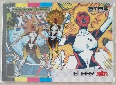 BINARY 2018 Fleer Ultra X-Men 3 STAX Card Character Set (Top, Middle & Bottom)