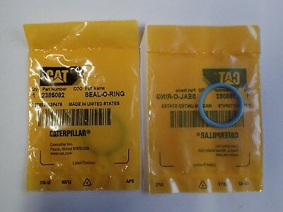 Caterpillar O Rings Oem Genuine Part# 2385082 Combined Cheap Registered Shipping