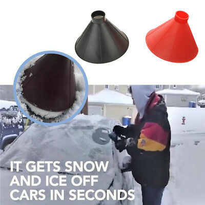 Easy Snow Wiper Free Shipping Magic Cone-Shaped Windshield Ice Scraper UK STOCK