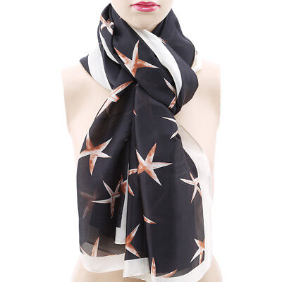 Women Lady Print Soft Large Summer Spring Autumn Wrap Scarf 8C