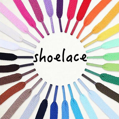 Colorful Shoelaces Coloured Flat Round Bootlace Sneaker Shoe Laces Shoe Strings