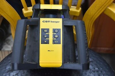 CST Berger RL25H Horizontal Exterior Self-Leveling Rotary Line Laser FREE S/H