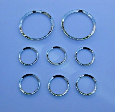 Smiths Chrome Bezel Set Half Vee Profile 4 inch x 2 and 2 inch x 6