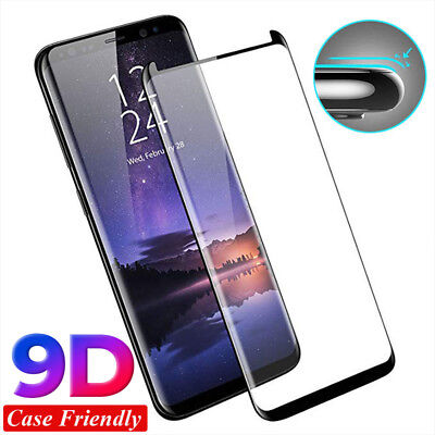 1/2/3 Pcs 9D Tempered Glass Screen Protector For Samsung Galaxy S9 S8+ Note 9/8