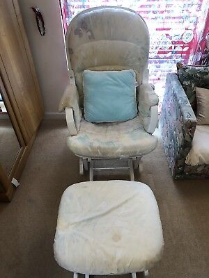 Nursing Glider Maternity Chair/ Rocking Chair