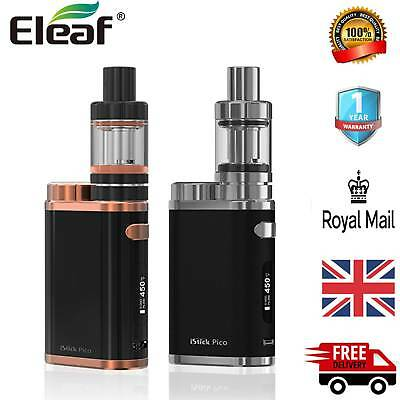 ELEAF ISTICK PICO 75W TC VW Mod Full Kit 100% Authenic w/ MELO III mini  Atomizer