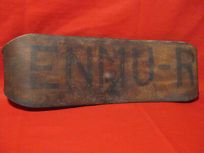 "Antique 1900s Leather Weightlifting Belt  "" New Mexico  U.S.A "" Initial  ENMU-R"