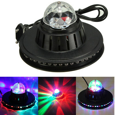 8W Party Disco Lights Strobe Led Dj Ball Sound Activated Dance Bulb Lamp Decor