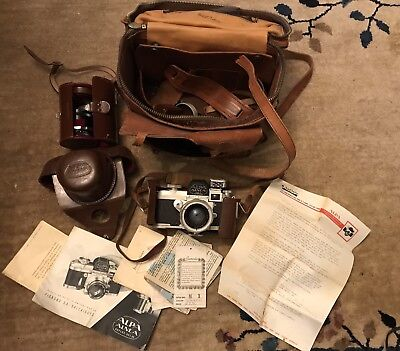 Vintage Alpa Alnea Model 5 Estate Find Camera And Lens