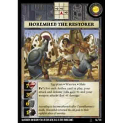Tri King Anachronism Set 2 Warrior Pack - Horemheb the Restorer MINT