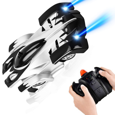 RC Remote Control Car USB Rechargeable Wall Climbing Toys 360°Rotating Climber