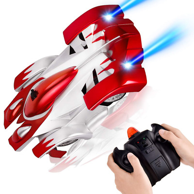 Wall Climbing Remote Control Car USB Rechargeable Toys 360° Rotating RC Climber