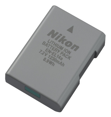 Genuine Nikon EN-EL14a Li-Ion Digital Camera Battery Pack