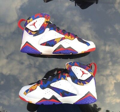 Nike Air Jordan Retro 7 XII Nothing But Net Ugly Sweater Size 7 Youth
