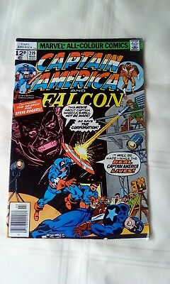 Marvels Captain America #219 Vintage Collectable Comic