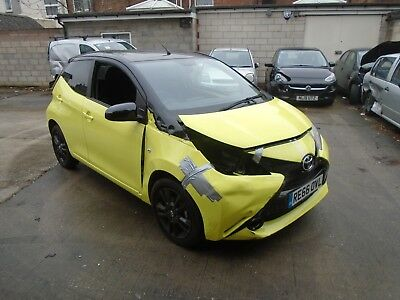 Toyota Aygo Damaged, Salvage. Repairable