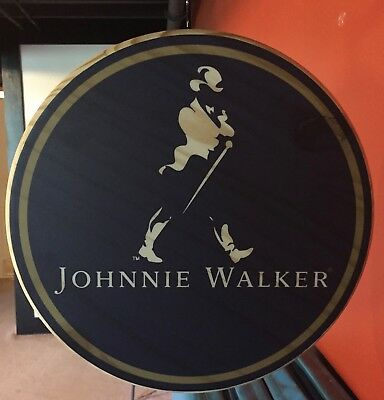 Johnnie Walker Double Sided Pub Sign