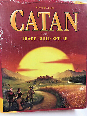 New Catan 5th Edition Trade Build Settle Card & Board Kids Game 3071  Great Gift