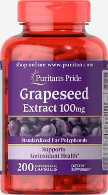 Grapeseed Extract 100 mg x 200 Capsules -24HR DISPATCH