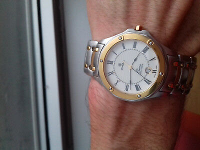 Cyma OCEANA PREMIUM GOLD & SILVER VINTAGE COLLECTION NOS MONTRE SWISS MADE WATCH