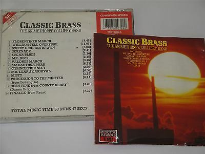 The Grimethorpe Colliery Band Classic Brass Band Music CD EMI Music For Pleasure