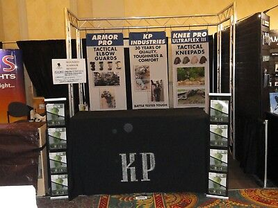 Trade Show Booth - 10 Ft Alum. Truss booth w/ wings