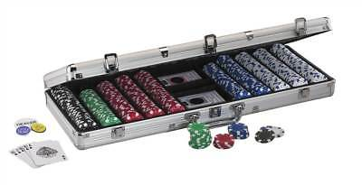 500Ct Texas Hold'Em Dice Poker Chip Set [ID 62542]