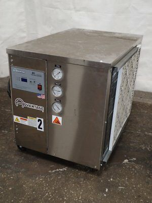 2 TON AIR COOLED CHILLER, Industrial Water Chiller, Stainless and 20F