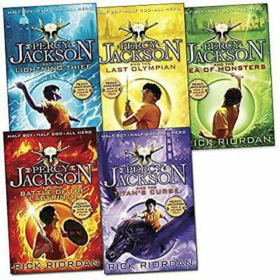 Percy Jackson Collection - 5 Books, New